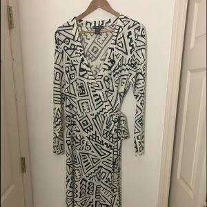 True wrap dress size 16
